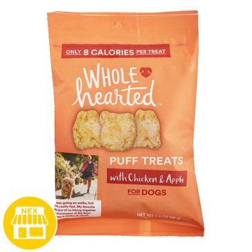 WholeHearted Chicken & Apple Puffs, 2.4 oz.