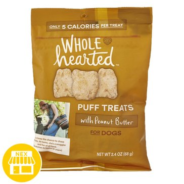 WholeHearted Peanut Butter Puffs, 2.4 oz.