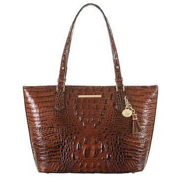 Brahmin Medium Asher Tote Pecan Melbourne