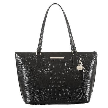 Brahmin Medium Asher Tote Black Melbourne