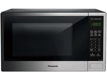 Panasonic 1.3-Cu.Ft. 1100 Countertop Microwave, Stainless Steel (NN-SU696S)