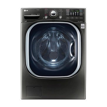 LG 4.5-Cu.Ft. Front Load Washer, Black Stainless Steel (WM4370HKA)