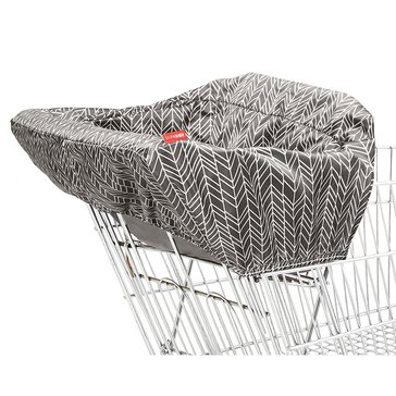 Skip Hop Take Cover Shopping Cart Cover, Grey Feather