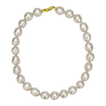 Majorica 14mm Simulated Baroque Pearl Endless Strand Necklace