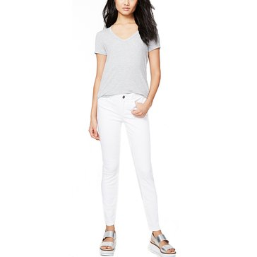Rachel Roy Icon Skinny Denim in White