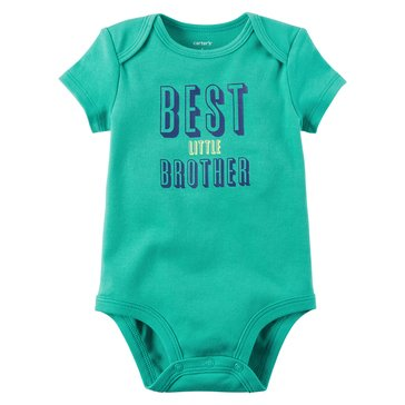 Carter's Baby Boys' Slogan Bodysuit, Little Brother