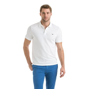 Vineyard Vines Men's Slim Contrast Pique Polo