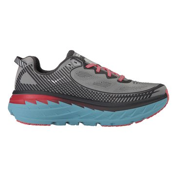 Hoka Women's Bondi 5 Running Shoe - High Rise / Dubarry