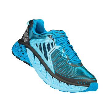 Hoka Women's Gaviota Running Shoe - Atomic Blue / Bluefish