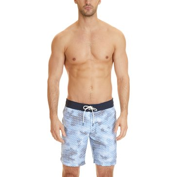 Nautica Men's Watercolor Geometric Trunks