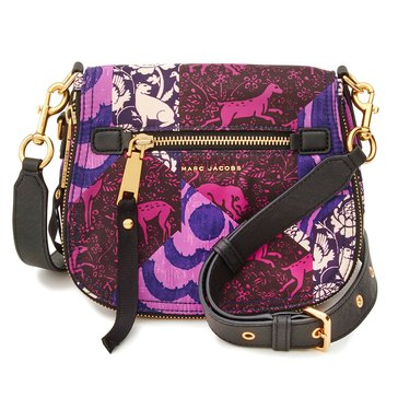 Marc Jacobs Tapestry Printed Trooper Small Nomad Black
