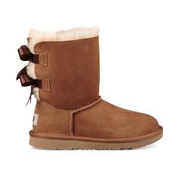 UGG T Bailey Bow II Girl's Casual Boot Chestnut