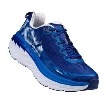 Hoka Men's Bondi 5 Running Shoe - Blueprint / White