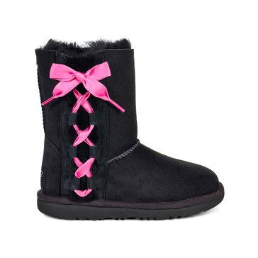 UGG K Pala Girl's Casual Boot Black