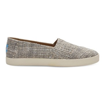 Toms Avalon Women's Slip On Shoe Oxford Tan Multicolor Tweed