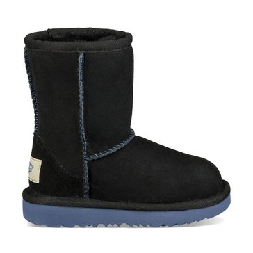 UGG T Classic II Girl's Casual Boot Black Nocturne