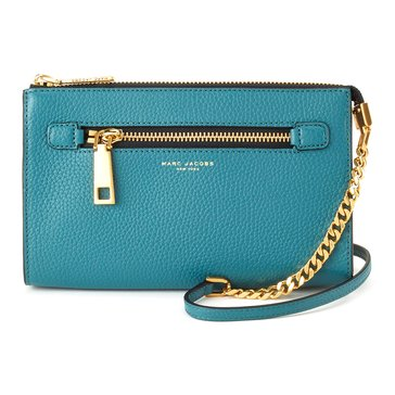 Marc Jacobs Gotham Small Crossbody Pacific