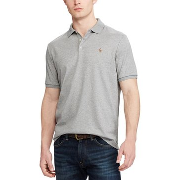 Polo Ralph Lauren Men's Short Sleeve Pima Soft Touch Classic Fit Polo