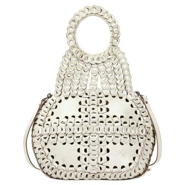 Patricia Nash Chain Link Pisticci Shoulder White