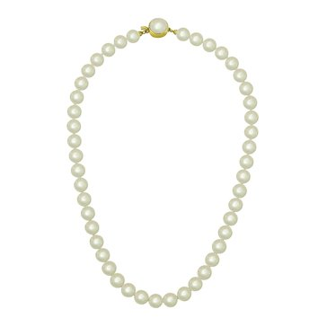 Majorica 8mm Simulated Round Pearl Strand Necklace