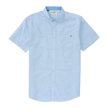 Billabong Little Boys' All Day Chambray Woven, Light Blue