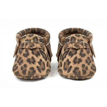 Freshly Picked Moccasins, Leopard, Size 2