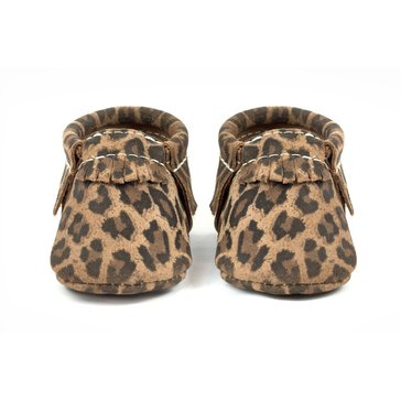 Freshly Picked Moccasins, Leopard, Size 3