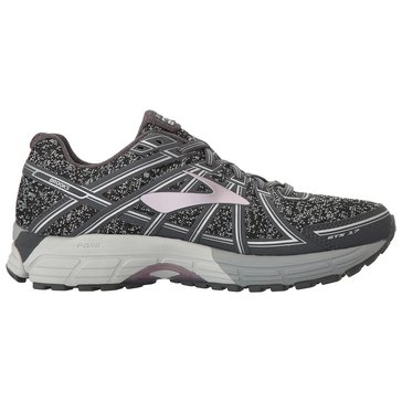 Brooks Adrenaline GTS 17 Women's Running Shoe - MetallicCharcoal / Black / RoseGold