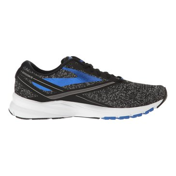 Brooks Launch 4 Men's Running Shoe - Black / Anthracite / Electric Brooks Blue