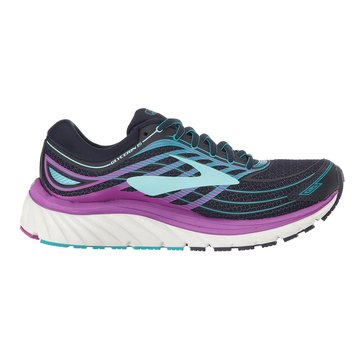 Brooks Glycerin 15 Women's Running Shoe - Evening Blue / Purple Cactus Flower / Teal Victory