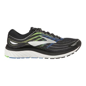 Brooks Glycerine 15 Men's Running Shoe - Black / Electric Brooks Blue / Green Gecko