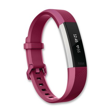 Fitbit Alta HR Fitness Tracker - Fuchsia - Small