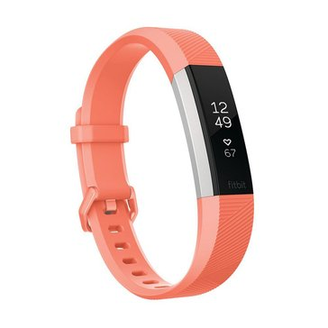 Fitbit Alta HR Fitness Tracker - Coral - Small