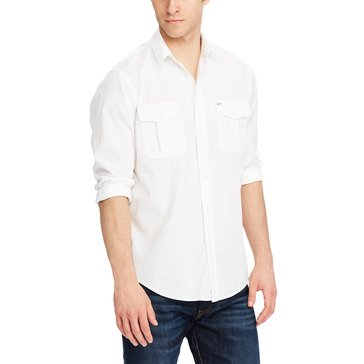 Polo Ralph Lauren Men's Cotton Military Sport Shirt