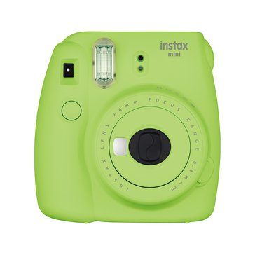 Fuji Instax Mini 9 Camera-Lime Green