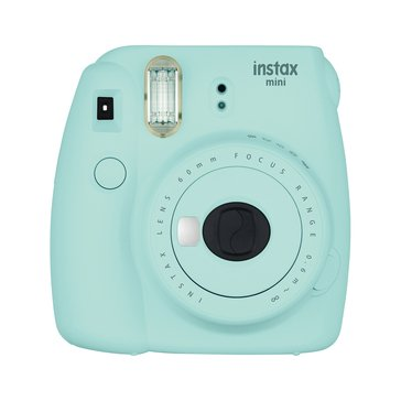 Fuji Instax Mini 9 Camera- Ice Blue