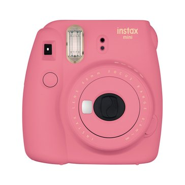 Fuji Instax Mini 9 Camera -Flamingo Red