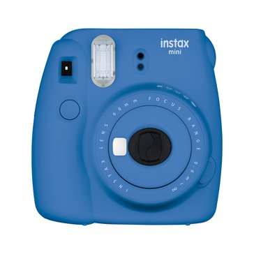 Fuji Instax Mini 9 Camera -Coblat Blue