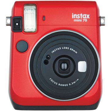 Fuji Instax Mini 70 Camera - Red