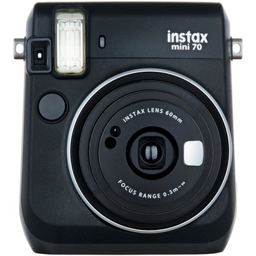 Fuji Instax MiniI 70 Camera - Black
