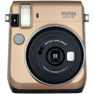 Fuji  Instax Mini 70 Camera - Gold