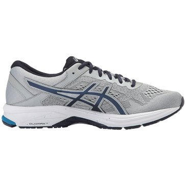 Asics GT 1000 6 (2E) Men's Running Shoe - Mid Grey / Peacock / Directoire Blue