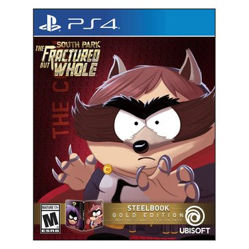 PS4 South Park The Fractured But Whole Gold Steelbook