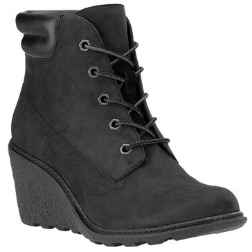 Timberland Amston Women's Wedge Boot Black