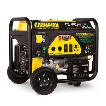 Champion 8000-Watt Dual Fuel Generator (100297)