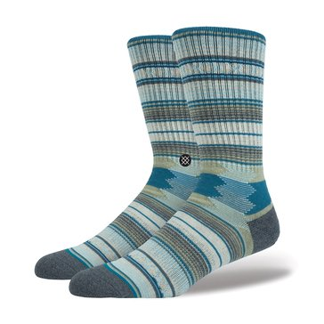 Stance Big Boys' Guadalupe Crew Socks, Taupe