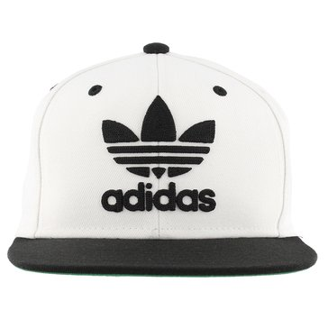 Adidas Men's Originals Trefoil Sanpback Cap - White