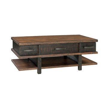 Signature Design by Ashley Stanah Coffee Table with Lift Top