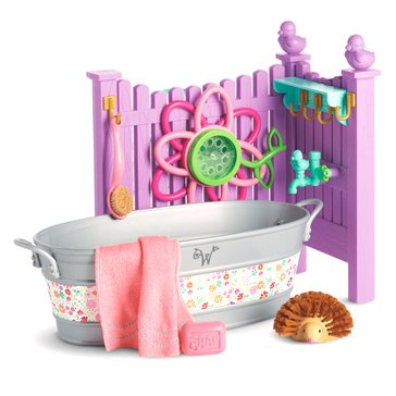 WellieWishers Playful Garden Washtub Set