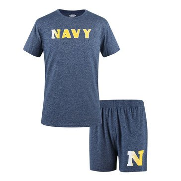Concepts Sport Men's Navy Top And Boxer Set